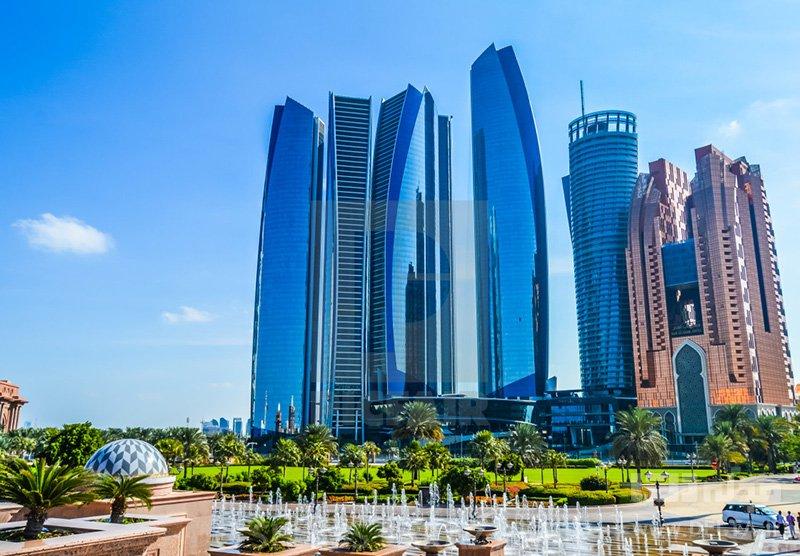 برجهای اتحاد دیدنی های ابوظبی