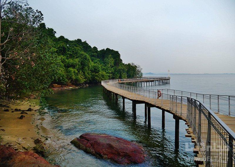 جزیرهی گرانیت دیدنی های سنگاپور