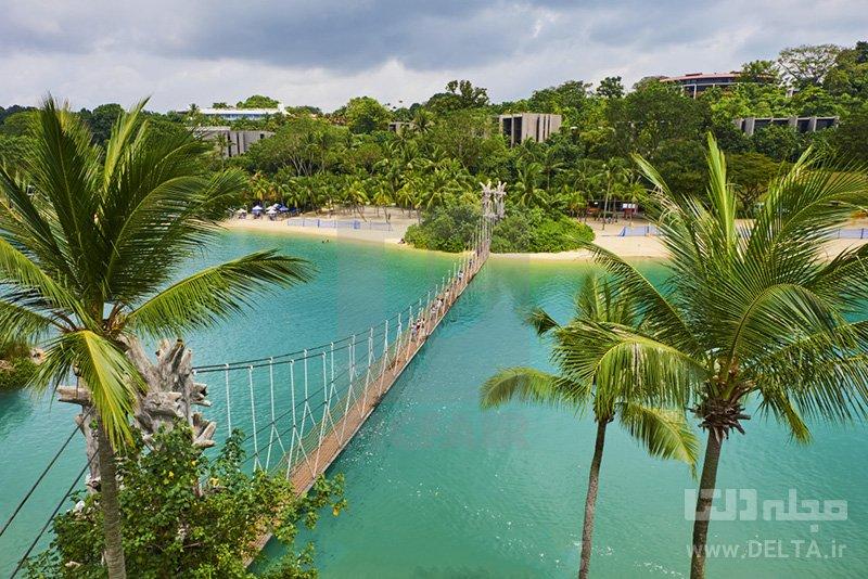 جزیره سنتوسا دیدنی های سنگاپور