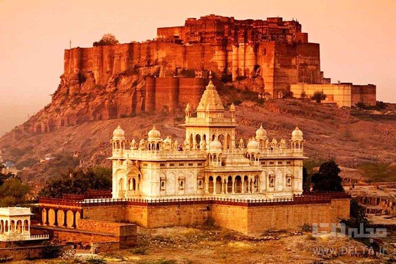 جيسلمر شهر طلايي ديدني هاي هند