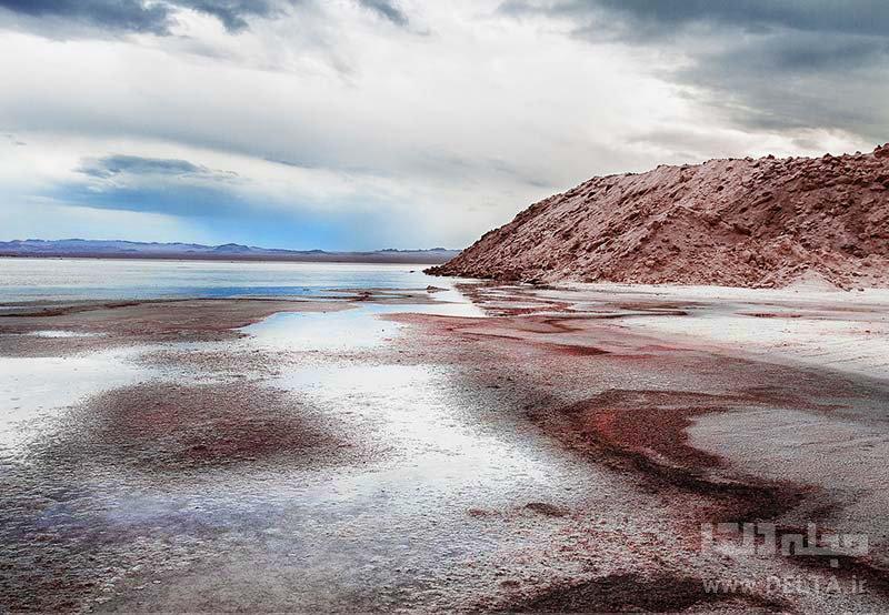 دریاچه نمک حوض سلطان بزرگترین آینه طبیعی