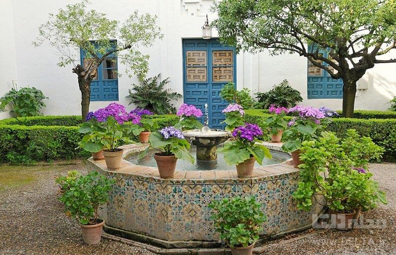 حياط خانه هاي ايراني