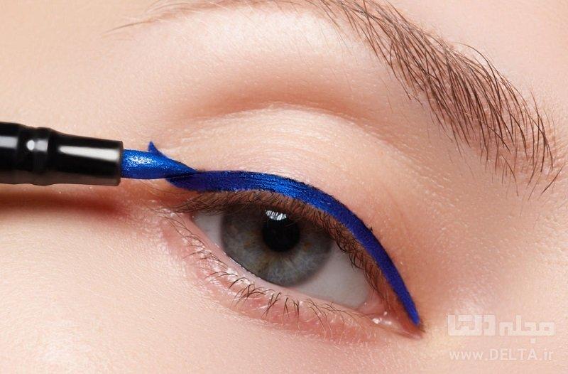 خط چشم آبی