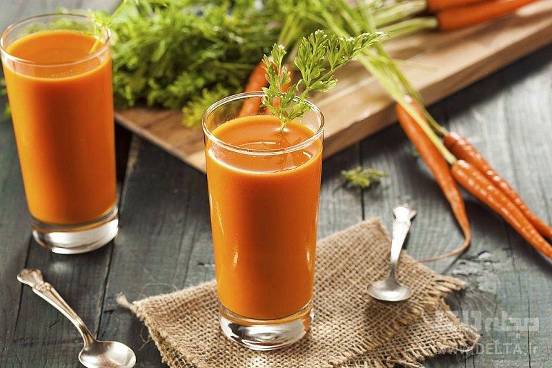 خواص آب هویج ناشتا