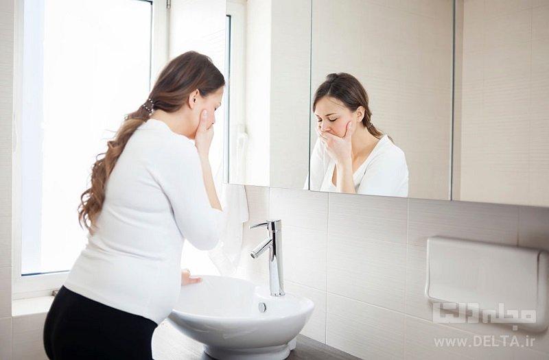درمان حالت تهوع بارداری