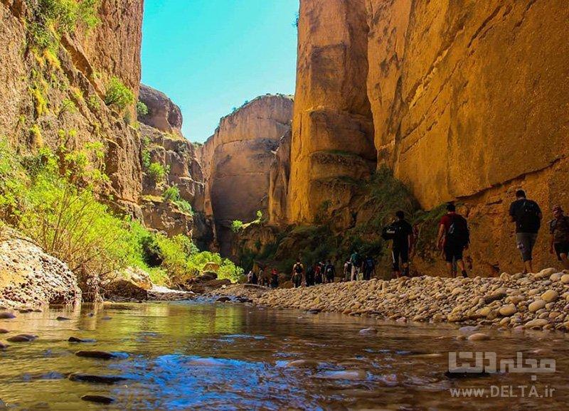 دره توبیرون جاهای دیدنی جنوب ایران