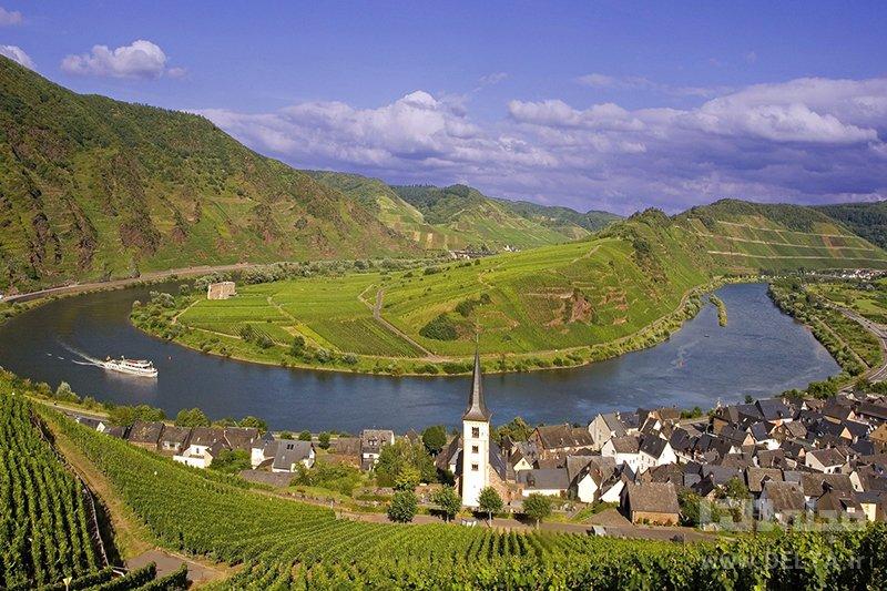 دره راین آلمان