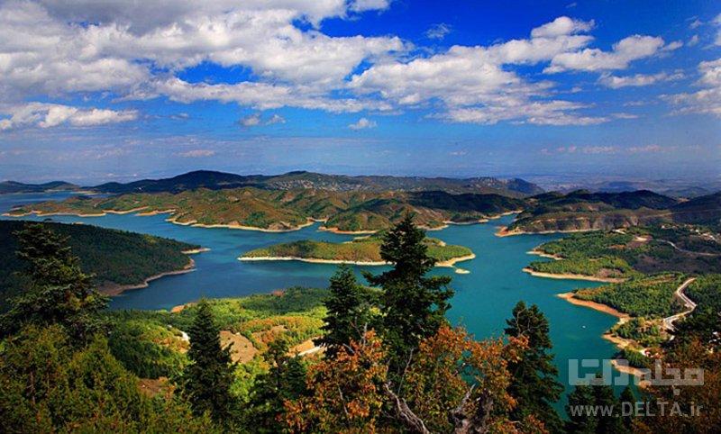 دریاچه پلاستیرا جاذبه های گردشگری یونان