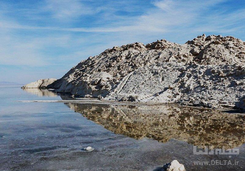 دریاچه نمک حوض سلطان در قم