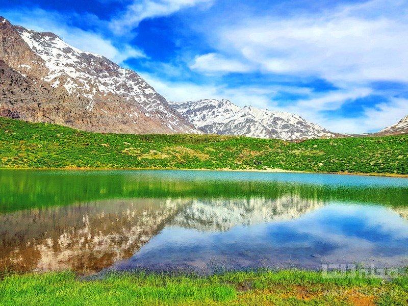 دریاچه کوه گل سیسخت