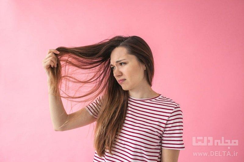 چگونه چربی مو را از بین ببریم