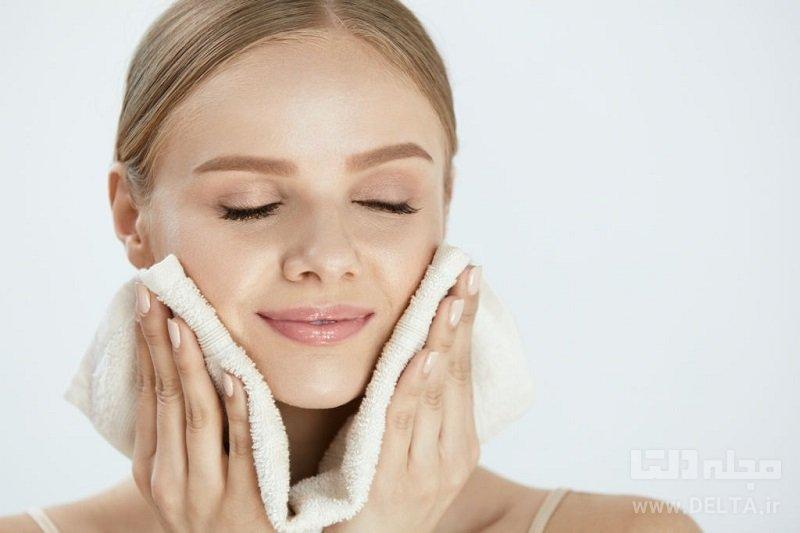 شیر برای پاک کردن آرایش
