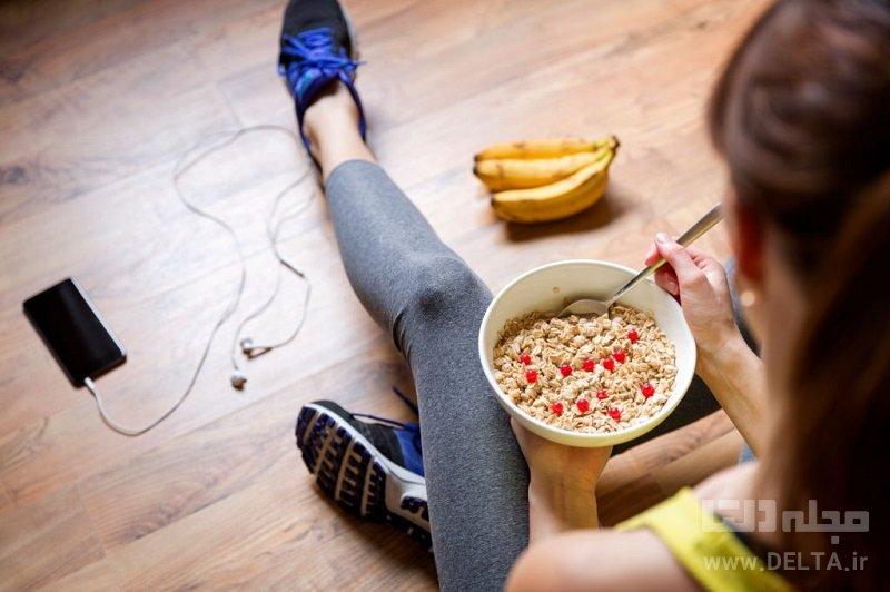 صبحانه رژیمی برای جلوگیری از پرخوری