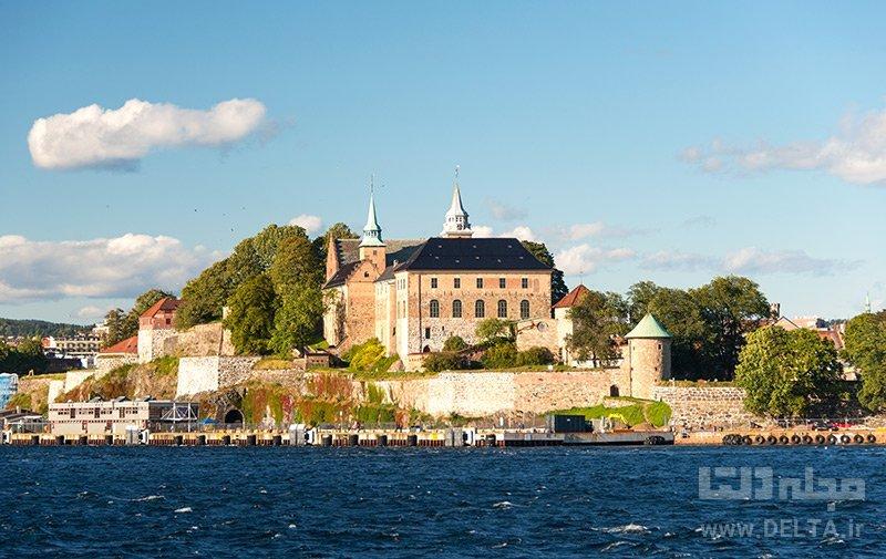 قلعه آكرشوس جاهاي ديدني نروژ