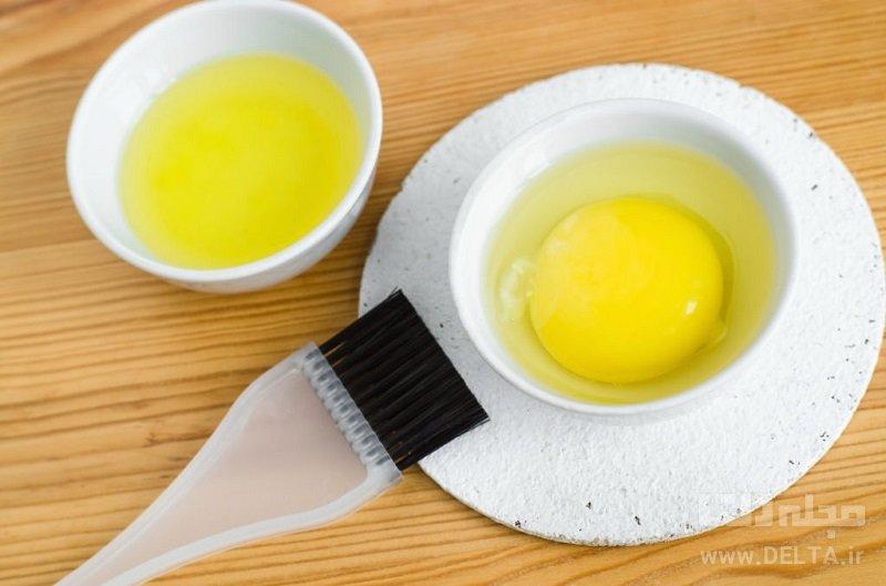 ماسک تخم مرغ برای مو