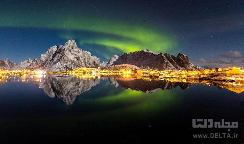 مدار شمالگان جاهای دیدنی نروژ