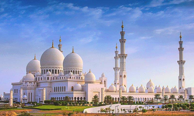 مسجد ابوظبی دیدنی های ابوظبی