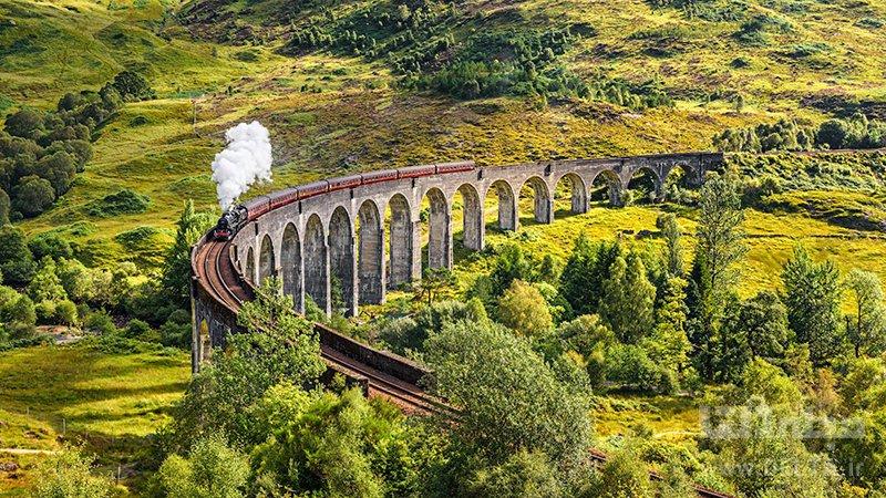 مسیر راه آهن جاهای دیدنی نروژ