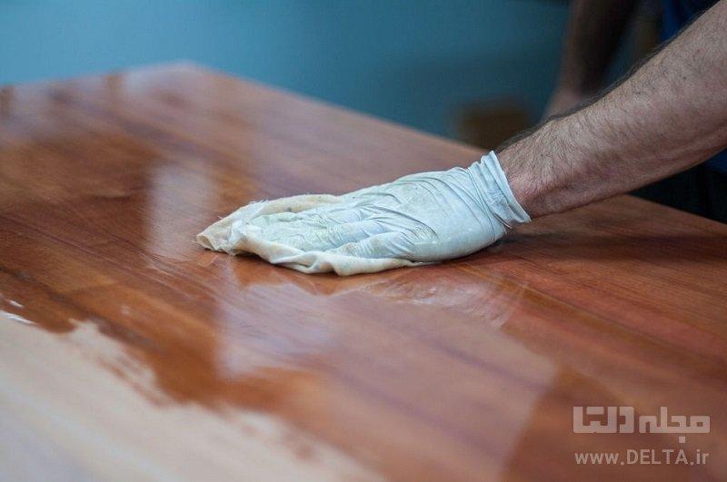 نگهداری از وسایل چوبی