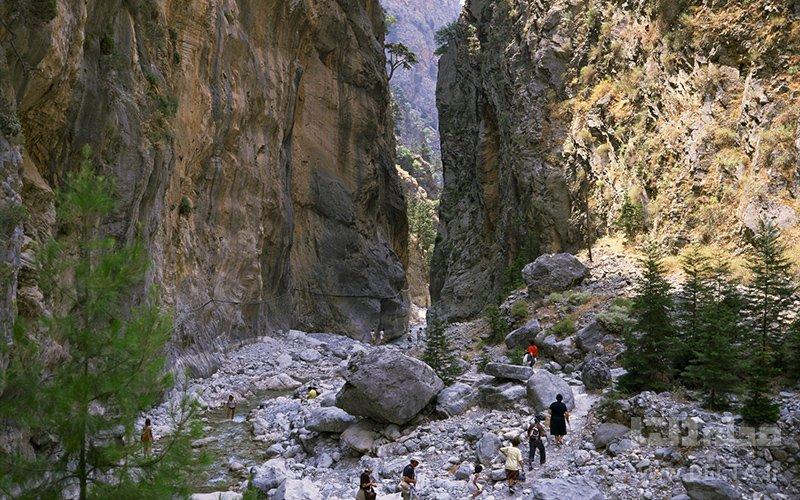 پارک ساماریا گُرج جاذبه های گردشگری یونان