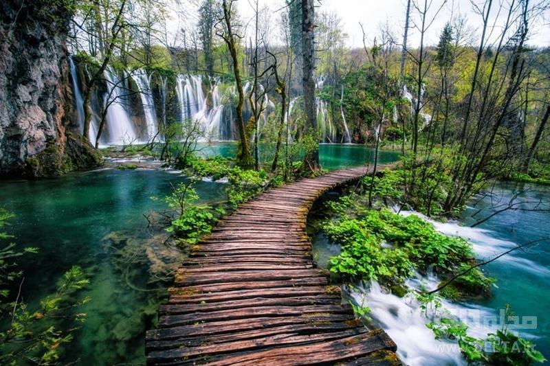 پارک ملی دریاچه های پلیتویک، کرواسی زیباترین مناطق دنیا