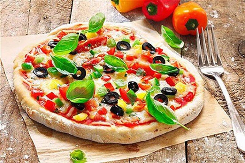 پیتزا فلفل دلمهای