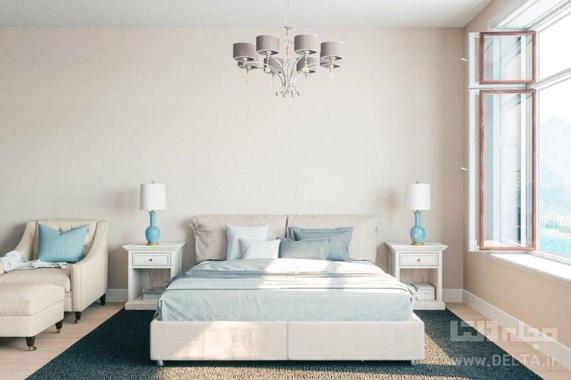 دکوراسیون اتاق خواب با وسایل ساده