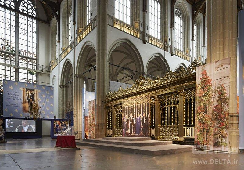 کلیسای جدید دیدنی های آمستردام