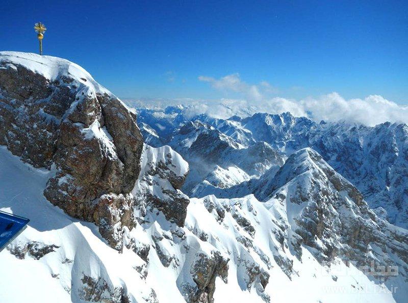 کوه تِسوگاِشپیتسه جاذبه های گردشگری آلمان