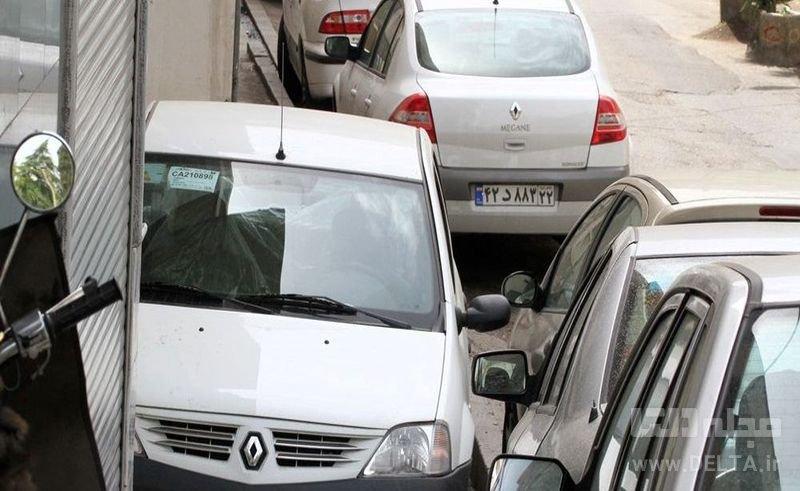 جريمه پارك خودرو در پياده رو
