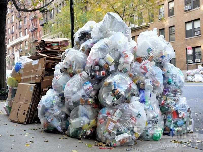دفع غیر بهداشتی زباله در شهرها