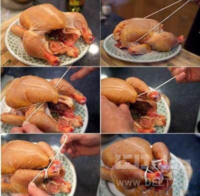جمع کردن مرغ بریان
