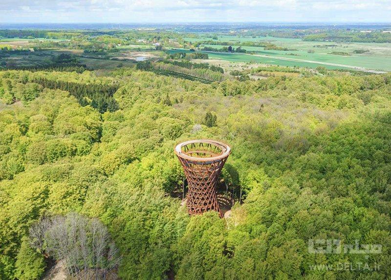 برج جنگل جاذبه هاي گردشگري كمتر شناخته شده