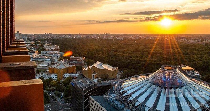 عرشه رصد پانوراماپونت برلین جاذبه های گردشگری کمتر شناخته شده