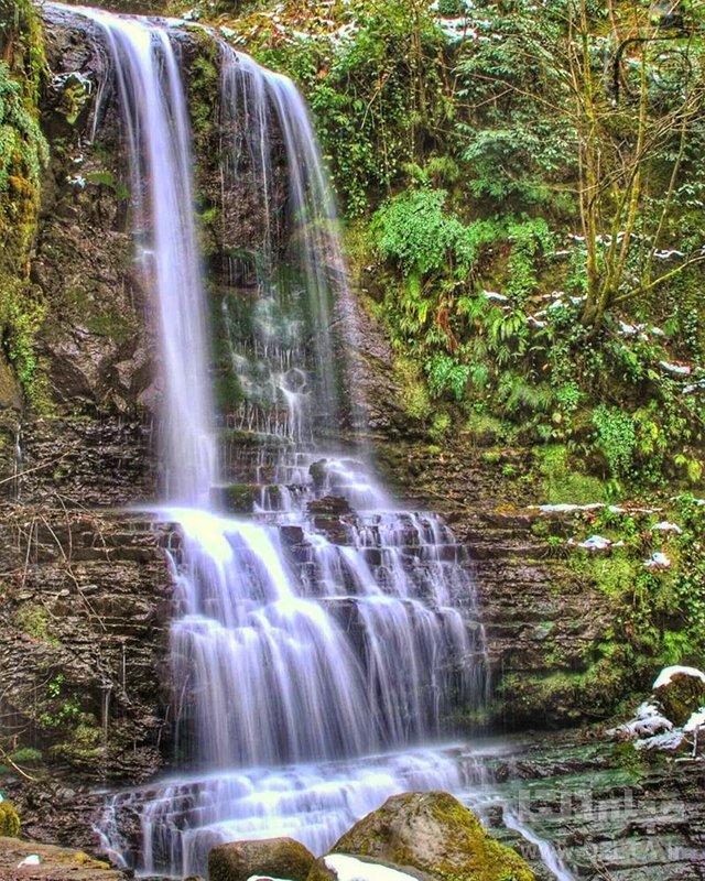 آبشار زمرد نگين تالش