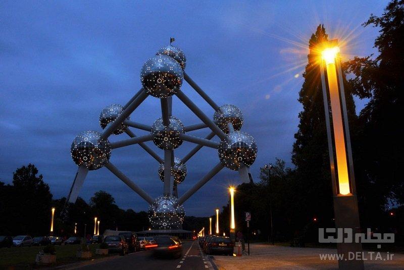 آتومیِم جاذبههای بلژیک