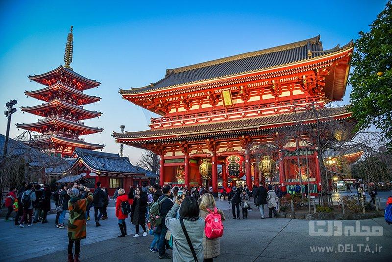 آساکوسا و معبد سنسوجی توکیو