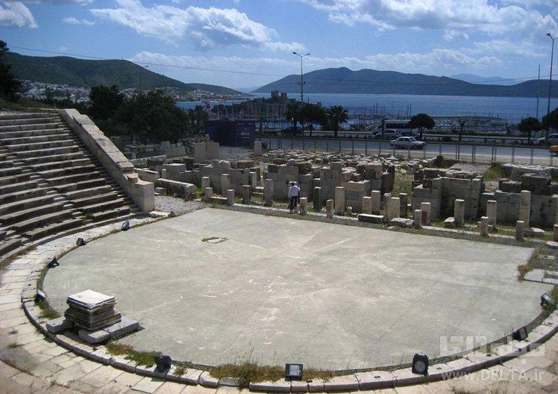 جاذبه های بدروم آمفی تئاتر بدروم Bodrum Amphitheatre