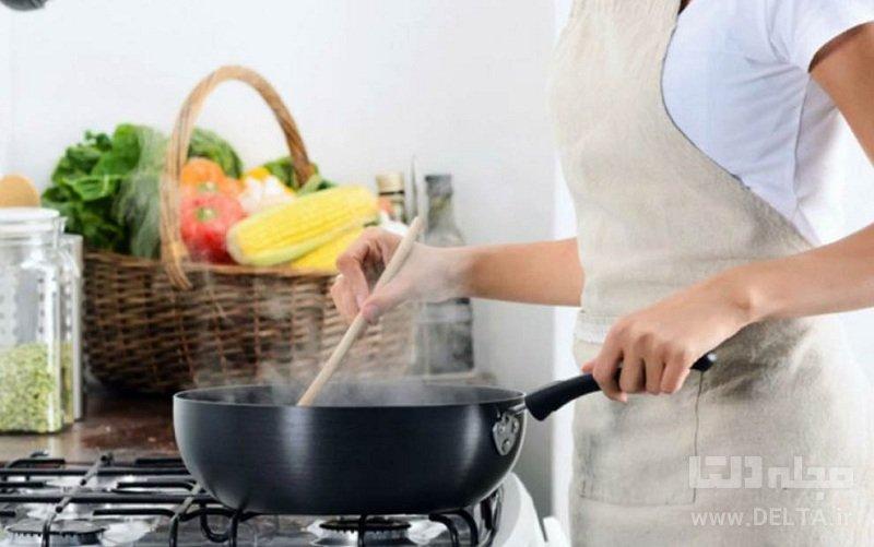 اشتباهات رايج آشپزي