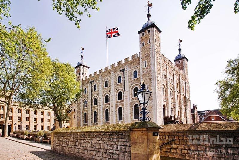 برج لندن جاذبههای لندن