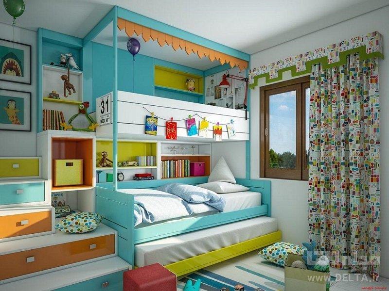 بهترین رنگ برای اتاق کودک