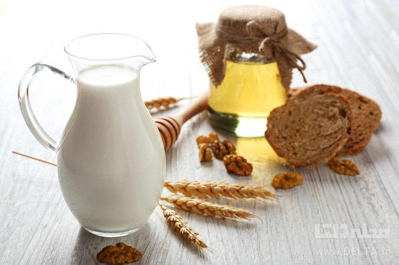 خواص شیر و عسل برای چاقی