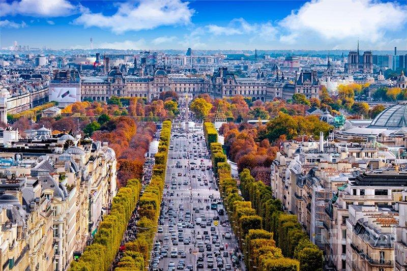 شانزه لیزه پاریس
