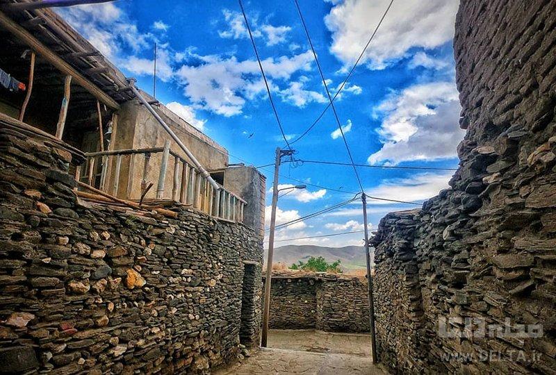 روستای ورکانه همران ، روستای سنگی ایران