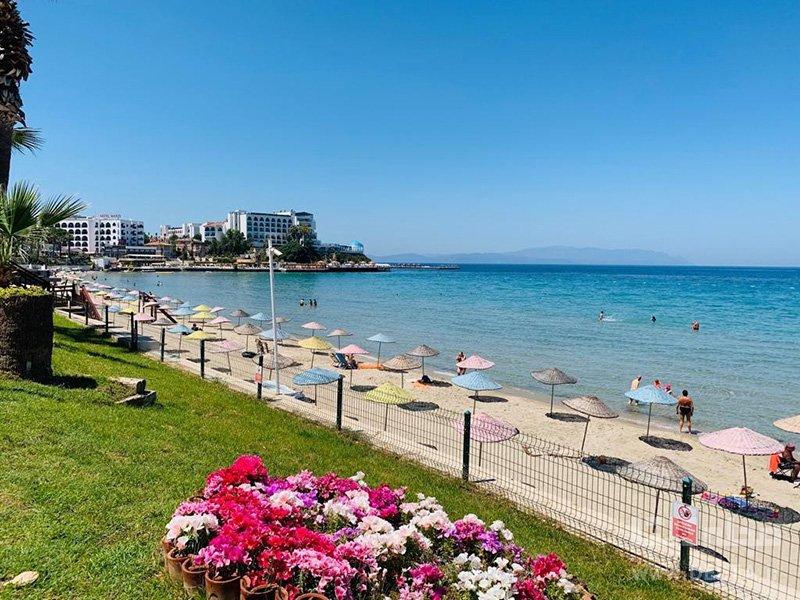 ساحل بانوان کوش آداسی ترکیه