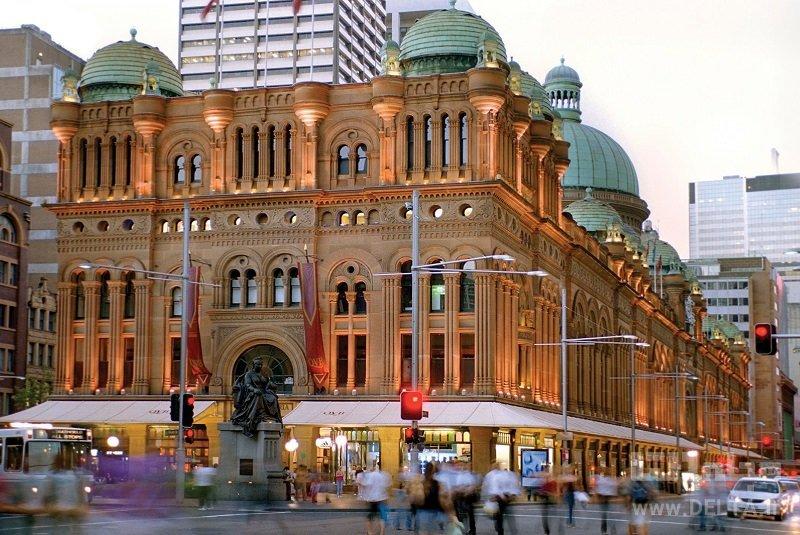 ساختمان ملکه ویکتوریا جاذبههای سیدنی