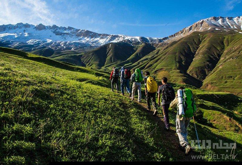 صعود به ارتفاعات پاشوره