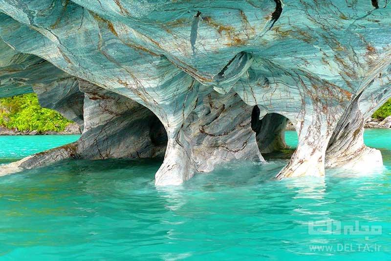 غارهای مرمری جاهای دیدنی آرژانتین