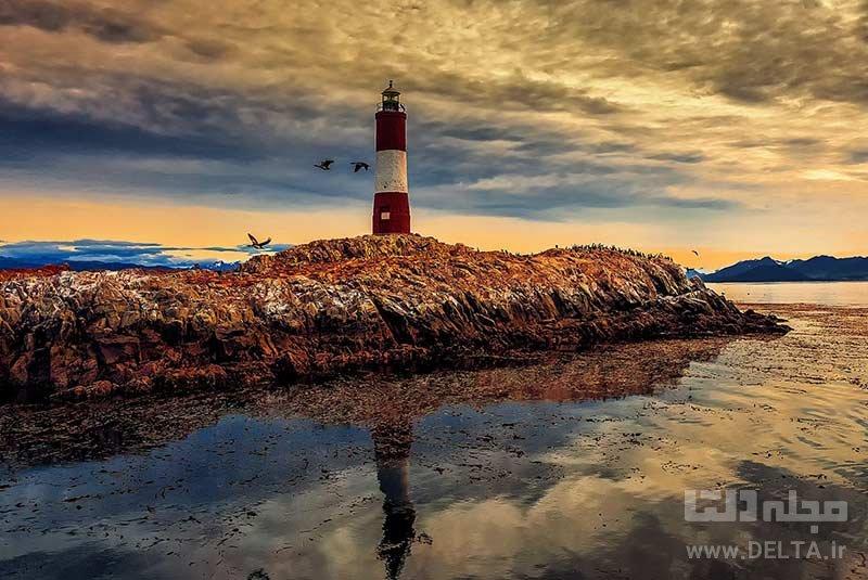 فانوسی دریایی آخر دنیا جاهای دیدنی آرژانتین
