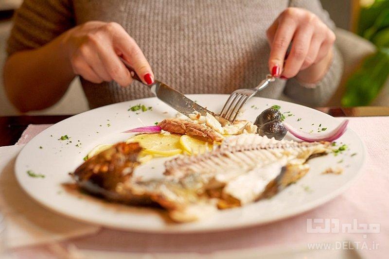 فواید مصرف ماهی